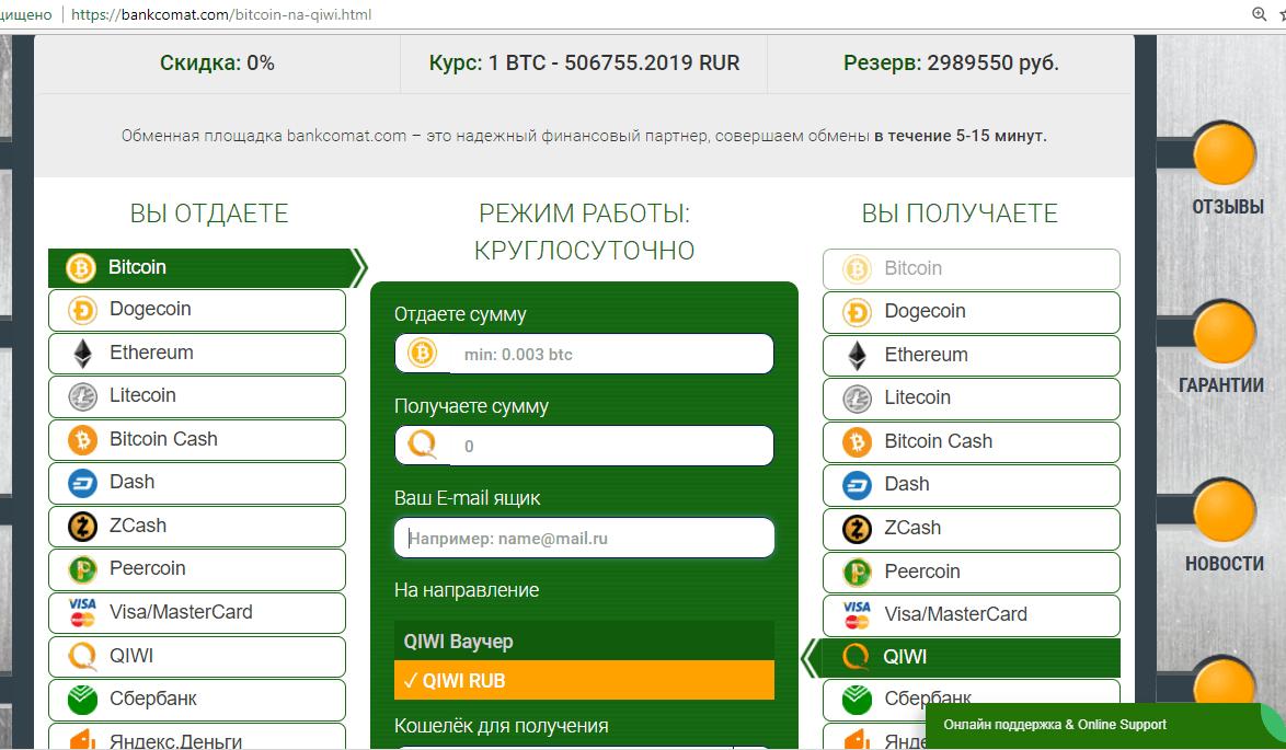Как выбрать  биткоин
