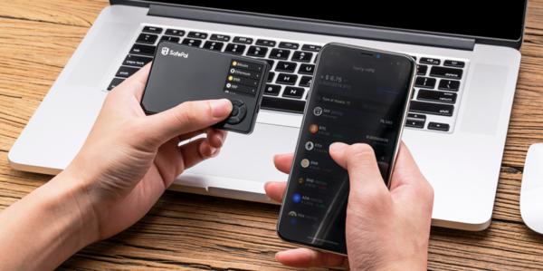 SafePal S1 и сопутствующий софт для смартфона