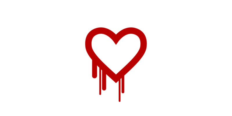 Рисунок 2: баг Hearthbleed стал настолько узнаваемым, что даже получил отдельный логотип.
